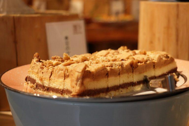 クランブルケーキ